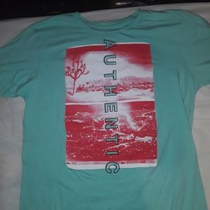 URBAN PIPELINE SIZE L COLORFUL GREEN T SHIRT